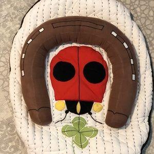 Crate & Kids Tummy Time Play Ladybug Mat